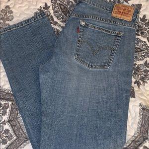 Levi's Women's 505 Straight Leg Jeans 10S
